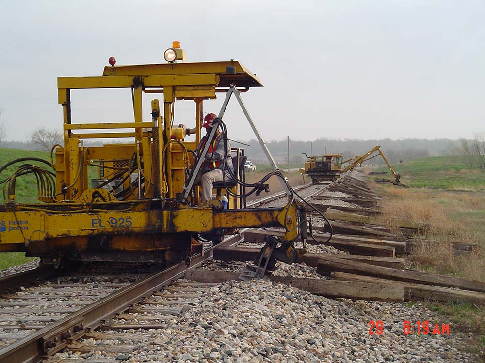 Construction Project Photos | Kelly-Hill Railroad Construction